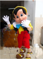 Unisex adult pinocchio costume - Professional Pinocchio Mascot Costume Adult Size Fairy Tale Characters Mascotte Outfit Suit Party Fancy Dress EMS