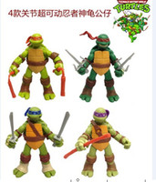 4pcs set 3. 3inch Teenage Mutant Ninja Turtles Classic Collec...
