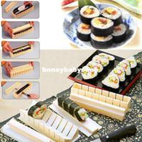 Wholesale DIY Sushi Master Maker Rice Mold Kitchen Sushi Making Machine Tool Set