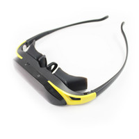 Wholesale New Product quot Virtual Wide Screen Video adjustable Eyewear Mobile Theater Glasses GB SD Card