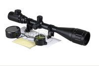6-24x50 - Tactical x50 Red Green Illuminated Mil dot Sight Scope Rifle Picatinny Rail
