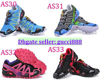 Wholesale DORP SHIPPING colors New Arrival Salomon Running shoes Women Sport Running Shoes Women Sneakers Price