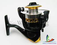 Cheap NEW!!! Fishing Tackle spinning wheel fishing reel cheap yellow XM200 china post air mail (2pcs)