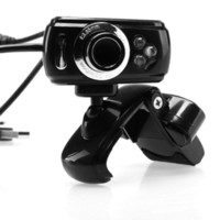 Wholesale Freeshipping Pixel USB HD Mini USB Webcam Web Cam Camera Mic For Laptop PC Desktop Computer Webcam For Tablet