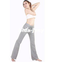 Wholesale Women Slim Yoga Pants Cotton With Spandex Clothing Sports Fitness Wear