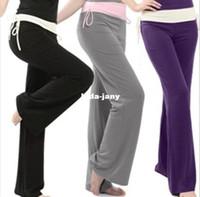 Wholesale 2013 Fashion Sweatpants Women Yoga Sports Pants Ladies Casual Long Trousers Women s Milk Silk Dance Clothing Plus Size M XXL