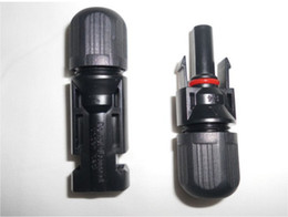 Wholesale Pair MC4 Solar Connector MC4 Connector TUV Certified Year Quality Guaranty