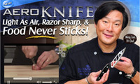 Wholesale Aero Knife Aeroknife Light As Air Razor Sharp Food Never Sticks free shiping