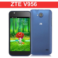 Wholesale Original Unlocked ZTE V956 Quad Core MSM8225Q Smart Phone Android Dual SIM G MB GB WiFi GPS Cameras English
