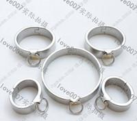sex collars - Plum blossom lock Handcuffs Fetter Collar lock sex game sets