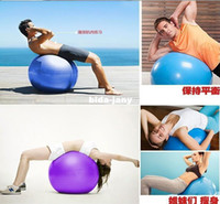 Wholesale Best Selling cm Stability Exercise Yoga Gym Fitness Ball Explosion proof Pregnant woman Fitness ball