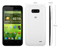 ZTE 4.6 Android4.2 Wholesale Quad Core Phone !ZTE V965 4.5 Inch 854x480 Russian MTK6589 Quad Core Mobile Phone Android 4.1 Dual SIM Multi Language