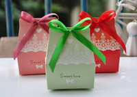 Favor Boxes Pink Paper New Arrival Candy for favor boxes Bowkont Belt wedding gifts boxes Wedding shower favors Chocolate Boxes