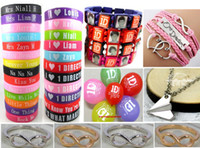 Wholesale 46 in One direction party gift favor Fashion Jewelry set