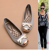 basic brand shoes - 2014 new arrivals fashion famous designer brand runway sweet basic casual shoes spring European style Pointy candy shoes flat for women