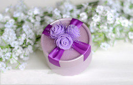 Wholesale Candy for favor boxes Wedding marriage personalized floral candy box candy European Specials box