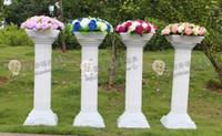 Wholesale Hot selling plastic roman column translucidus columns2 wedding road cited wedding props