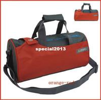Wholesale Gym Bag Sport Fitness Bag Shoulder Messenger Cylinder Fitness Bag