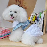 Wholesale Hot Pet Supplies Dog Clothes The new pet clothes washed cake skirt skirt pet dog clothes CA098
