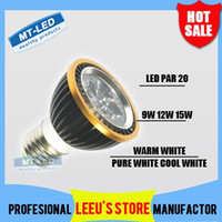 Wholesale X30 DHL High power CREE Led Lamp par Dimmable W W W E27 GU10 Led Light V Spotlight led bulb downlight