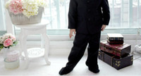Wholesale Boys dress is covered times years old can make black suit young boysA24