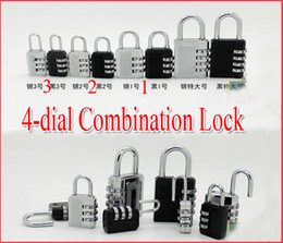 Wholesale New arrived style dial dial TSA Combination Lock Luggage Padlock PC Security combination Lock Code Lock style