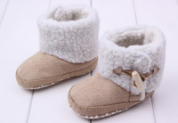 Boy Winter Fabric Baby winter cotton shoes ugg boots baby toddler shoe baby shoes boots 12pair