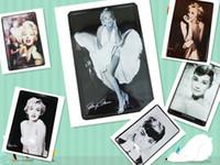 other Yes No New arrival 8ps metal Marilyn Monroe Audrey Hepburn modern Abstract photo wall art home Decor art modern wall art