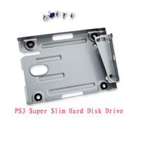 Wholesale hot selling forsony CECH X PS3 Super Slim Hard Disk Drive Mounting Bracket shipping
