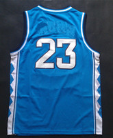 Basketball north carolina - Top Quality Men s Basketball Jerseys North Carolina Michael Jordan Blue White Embroidery Logo Mix Order