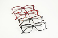 Wholesale New arrival designer eyeglasses CL1218 acetate frame vintage myopia glasses frame for women with original packing box