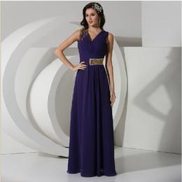 Wholesale Double shoulder shoulder bag design long evening dress formal dress choral service bride evening dress