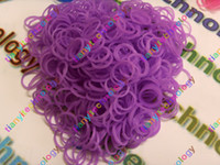 Unisex 12-14 Years Red Rubber LOOM BANDS GLITTER GLOW in the Dark Rainbow Colors