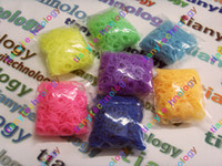 Unisex 12-14 Years Red 600 pcs Multicolor GLOW IN THE DARK Rainbow Loom refill Rubber bands & S Clip or C Clip