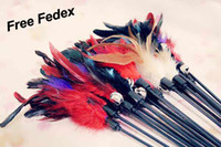 Wholesale Fedex New Feather cat play toys special play stick pet products pet supplies amp accessories T9207