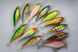 LOT20 Fishing Lure CranKbaits Bass Hooks 13.5g 9.5cm