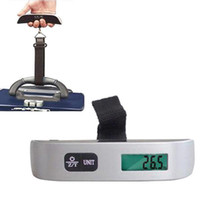 Wholesale S5Q kg lb Portable Convenient Hanging LCD Digital Luggage Weighting Scale AAABQK