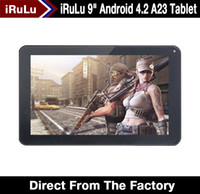 Under $100 epad - Ship from USA quot Android Dual Core A23 Tablet RAM MB GB Dual Web Camera Capacitive Touchscreen WiFi inch iRuLu ePad Tablet
