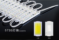 Wholesale DHL X new Pink Yellow red blue green cold white LED Module v lamp Waterproof led modules Sign Box IP65