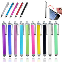 Wholesale Stylus Pen Capacitive Touch Screen For Universal Mobile Phone Tablet iPod iPad cellphone iPhone S plus