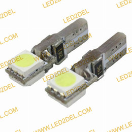 Wholesale LED T5 SMD Canbus White LED Dash board instruments panel Car Light Bulb without blister by FEDEX