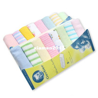 Wholesale New Soft Baby Boy Girl Kids Children Newborn Infant Toddlers Bath Towels Washcloth Wipe Clean Face Nursing