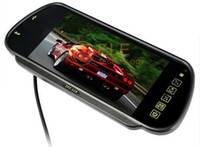 "Parking Assistance LCD Rear View Camera 7"" car Rearview Mirror Monitor with MP5 Player USB Bluetooth"
