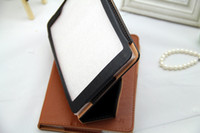 Protective Shell/Skin 7.9'' Teclast Stand PU Case Protective Cover For 7.9inch Teclast G18 Mini QuadCore Tablet PC Black Brown Post Free Shipping