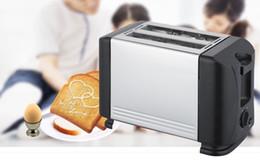 Wholesale Bread Maker Toaster Multifunctional Bread Baking Breakfast Machine Stainless steel shell HOT