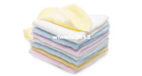 Wholesale 12 x Bamboo Fibre Baby Kids Children Wash Cloth Face Washer BRAND NEW
