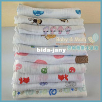 Wholesale cotton Aden by aden anais baby towel newborn bath towel newborn blanket x110cm g with label