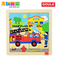other   Educational aids toy goula puzzle - fire truck 53073