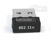 Wholesale MINI nano mbps MB N WiFi Wireless IEEE N T1R USB Adapter Dongle Network card