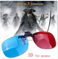 Active Red/Blue  Hot Sale, Kula Myopia 3D Glasses,Bring to your best Visual effect,For Region 1 Region 2 Latest DVD Movies Hot Sale DVD Movies,20pcs lots